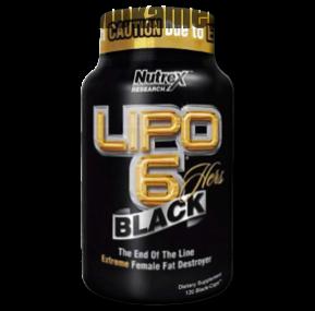 چربی سوز لیپو ۶ بلک هرز (Lipo-6 Black Hers )