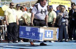 فیملبرداری مرحله فینال مسابقات قویترین مردان آغاز شد