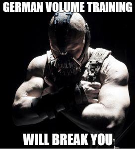 نهایت حجم با تمرینات پر حجم آلمانی (GVT)