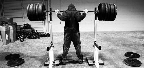 strength training squatter