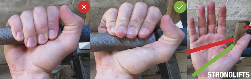 Bench Press Grip
