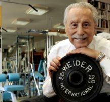 عکس اصول بدن سازی پدر بدن سازی مدرن جو ویدر