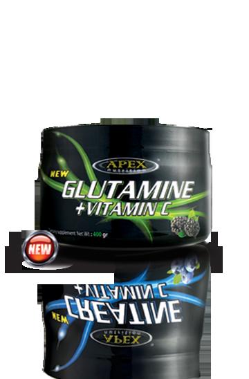 ال گلوتامین+ ویتامین ث اپکس