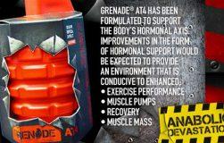 عکس معرفی و بررسی مکمل تقویت کننده سطح تستوسترون Grenade AT4