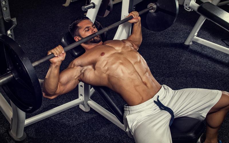 عکس چگونه در حرکت پرس سینه به نهایت حجم و قدرت عضلات سینه دست یابیم