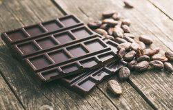 عکس با مصرف شکلات سیاه رشد عضلات خود را افزایش دهید