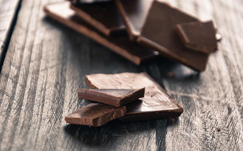 Many Benefits to eating dark chocolate