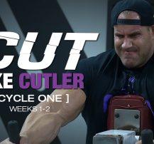عکس برنامه تمرینی کارامد Cut Like Cutler Trainer (هفته ۱-۲)