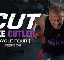 عکس برنامه تمرینی کارامد Cut Like Cutler Trainer (هفته ۷-۸)