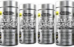 عکس معرفی و بررسی مکمل عضله ساز clear muscle از muscletech