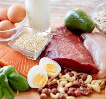 عکس ۱۰ منبع غذایی برتر پروتیین برای عضله سازی خالص
