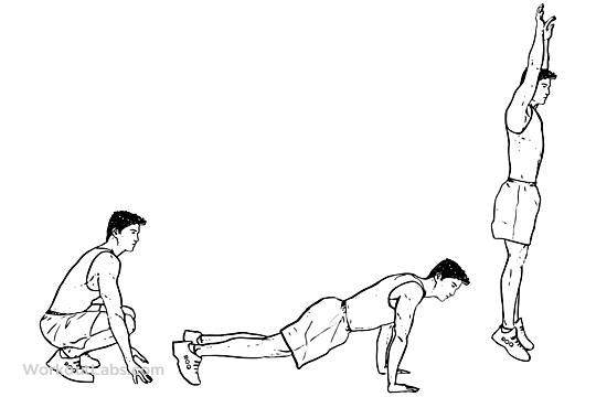 Burpees M WorkoutLabs