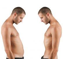 عکس نحوه آب کردن چربیهای احشایی شکم و کوچک کردن آن