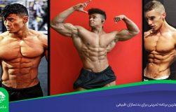 بهترین برنامه تمرینی برای بدنسازان طبیعی