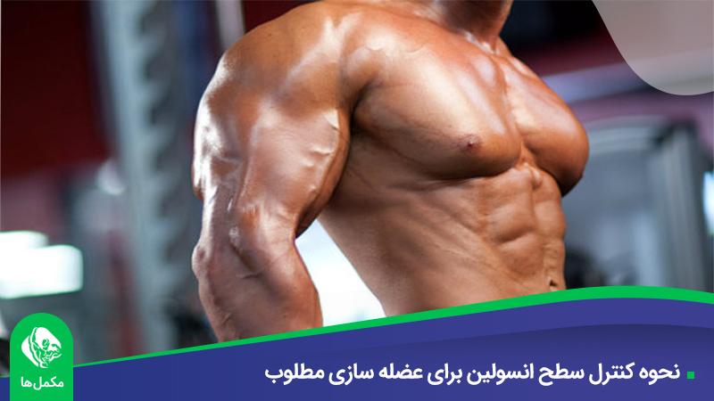 نحوه کنترل سطح انسولین برای عضله سازی مطلوب
