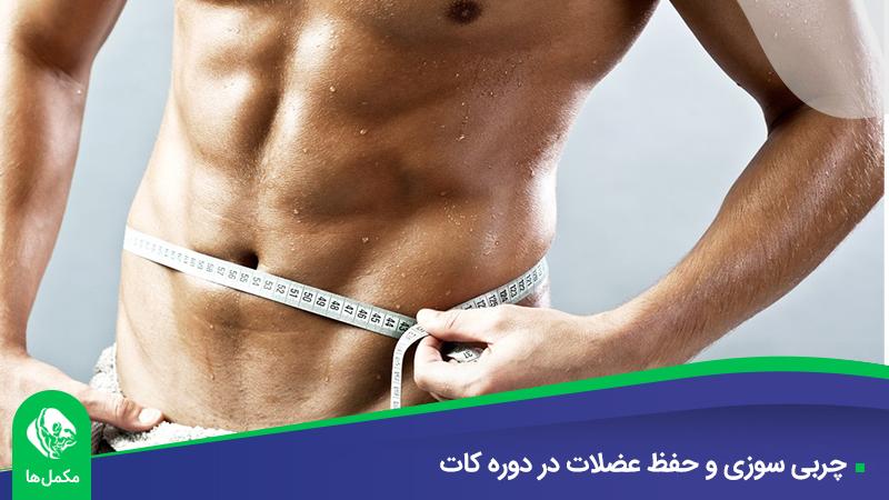 چربی سوزی و حفظ عضلات در دوره کات