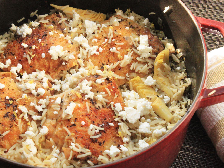 20140317 one pot wonders lemon chicken