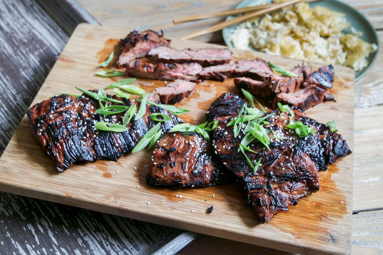 asian marinded skirt steak 21