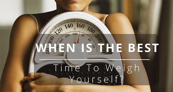 بهترین زمان وزن کشی