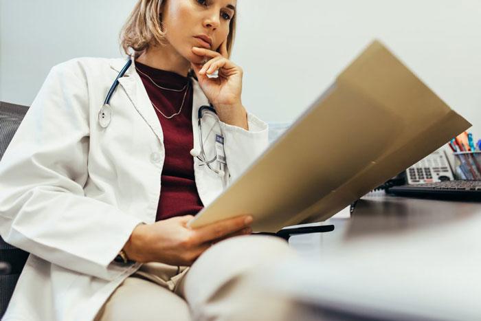 التهاب و مراجعه به دکتر