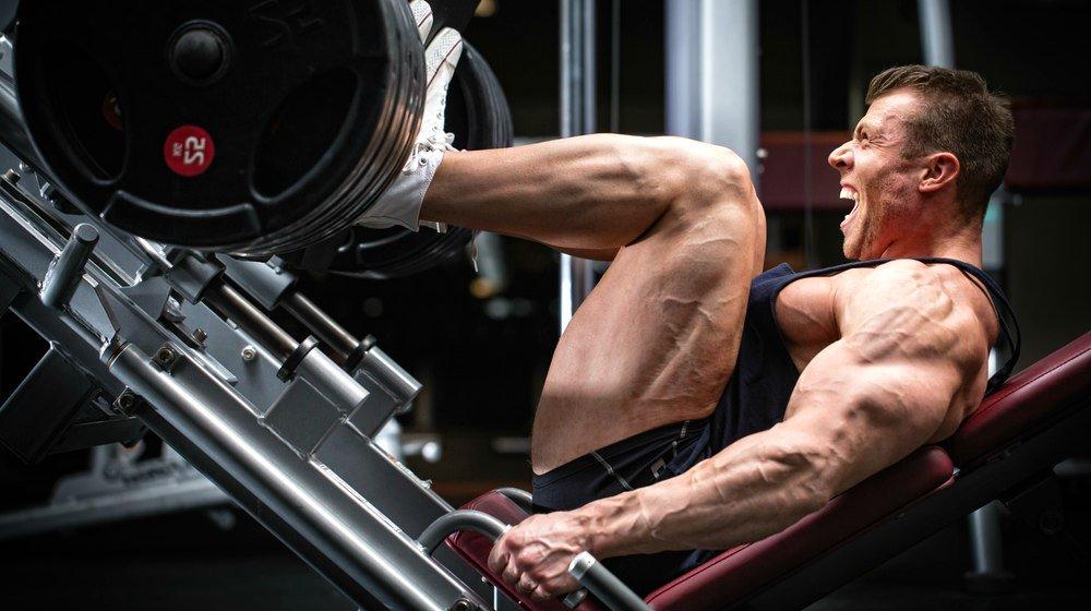 عدم رشد عضلات ساق