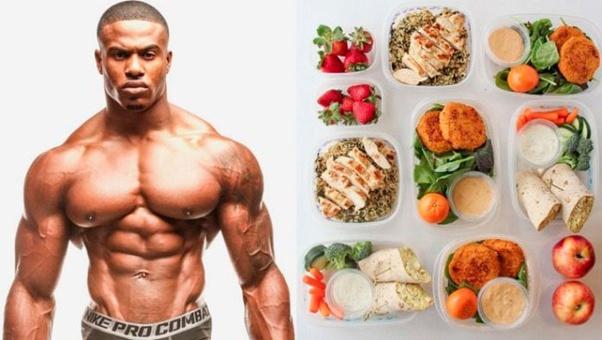 رژیم غذایی بدنسازی
