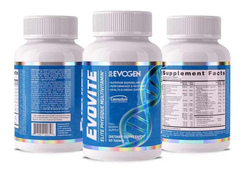 مولتی ویتامین (EVOVITE) Evogennutrition