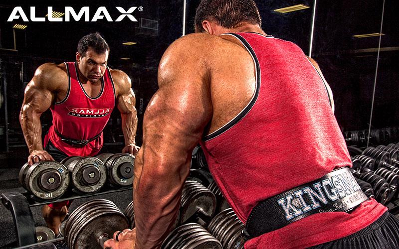 Allmax Athlete Steve Kuclo Performs Instense Exercises