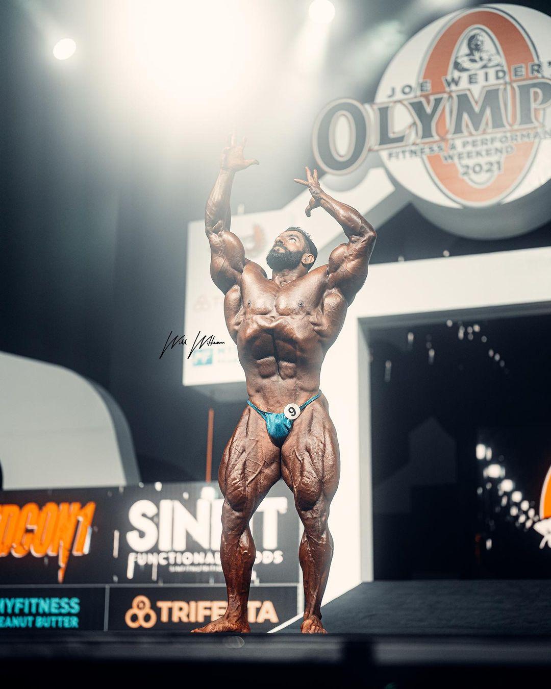 هادی چوپان مستر المپیا 2021