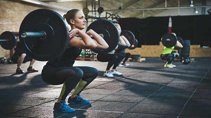 Leg training for womans