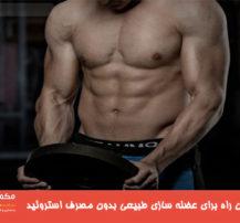 سریعترین راه برای عضله سازی طبیعی (بدون مصرف استروئید)