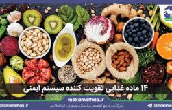 ۱۴ ماده غذایی تقویت کننده سیستم ایمنی