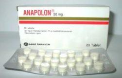 استروئید آناپولون Anapolon اصولا دارویی خوراکی است و در نوع خود از قوی ترین انواع استروئید های خوراکی نیز محسوب می شود. این استروئید از دی هیدرو تستوسترون مشتق می شود. از این دارو در مراکز درمانی به منظور درمان بیماری کم خونی ناشی از کمبود گلبول های قرمز استفاده می شده است اما به دلیل اینکه اثرات آندروژنی و آنابولیکی این دارو نیز همانند مادر خود یعنی تستوسترون بالاست امروزه این دارو در پرورش اندام و در ورزش های قدرتی به خوبی جای خود را باز کرده و از محبوبیت بالایی برخوردار شده است. شاید از عمده دلایل محبوبیت این دارو در بین ورزشکاران رشته های قدرتی افزایش سریع وزن ناشی از مصرف آن باشد. افزایش ۵ الی ۷/۵ کیلوگرمی وزن در اثر مصرف نمونه های غربی و با کیفیت این دارو در همان دو هفته اول مصرف نیز دیده شده است. اما باید به این موضوع نیز اشاره کرد که این افزایش وزن در اغلب موارد در اثر احتباس آب و املاح در بدن رخ می دهد و به ندرت ناشی از تشدید فرایند پروتئین سازی در عضلات اتفاق می افتد. این دارو موجب افزایش میزان گلبول های قرمز خون می شود و به همین دلیل نیز می توان گفت که با مصرف این دارو افزایش خون رسانی و اکسیژن رسانی به عضلات نیز دور از انتظار نخواهد بود. نمونه های با کیفیت این دارو گاه دیده شده است که موجب گرفتگی برخی از عضلات می شوند و مصرف کننده به محض دیدن این علامت عجیب مصرف دارو را باید قطع کند. این علامت عجیب با مصرف نمونه های واقعی و با کیفیت این دارو دیده می شود و چه بسا که ممکن است مصرف نمونه های قلابی و بی کیفیت عوارض جانبی عجیب تری را نیز به دنبال داشته باشد. ریکاوری گفته می شود که مصرف این دارو با تسریع فرایند ریکاوری نیز همراه می شود و به همین دلیل نیز می توان امیدوار بود که مصرف این دارو با پیشگیری از ابتلا فرد به عارضه تمرین زدگی در تشدید فرایند عضله سازی در بدن فرد موثر واقع شود. عوارض جانبی آناپولون دارویی بسیار پر قدرت به شمار می رود که مصرف آن برای مبتدی ها توصیه نمی شود. احتباس آب و املاح در اثر مصرف این دارو به شدت رخ خواهد داد. افزایش فشار خون نیز با مصرف این دارو شایع و معمول بوده است. این عارضه در اثر بالا رفتن میزان آب بدن و در اثر افزایش حجم خون رخ می دهد. این دارو برای کبد بسیار سمی است و هرگز نباید استفاده های طولانی مدت از آن تجویز شود. این د